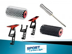 PACK2 BROSSE ROTATIVE + SUPPORT 2018