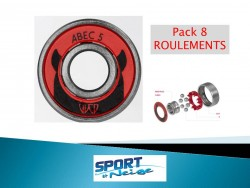 Powerslide ABEC 5 Bearings 8 ROULEMENTS